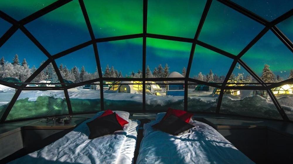 Kakslauttanen Arctic Resort sestri